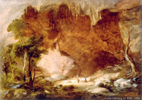 Northern entrance, Burrangalong Cavern, Rockbridge Creek, ca. 1849