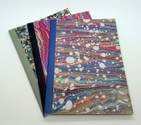 Book End Paper, set of 3 x A5 exercise books