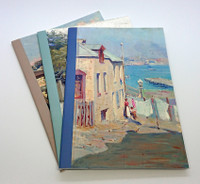Sydney Streetscape Paintings, set of 3 x A5 exercise books
