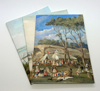 Sydney Harbour Paintings, set of 3 x A5 exercise books