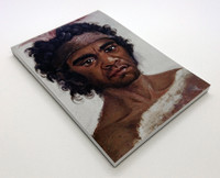 One of the NSW Aborigines befriended by Governor Macquarie A6 Notepad blank 60pp