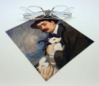 Man with a Rabbit Lens Cloth
