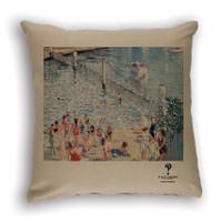 Swimming Enclosure Cushion Cover Natural