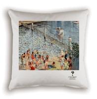 Swimming Enclosure Cushion Cover White