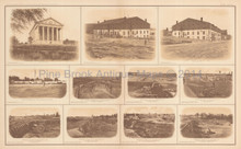 View Of Richmond Libby Prison Civil War Antique Photo 1895