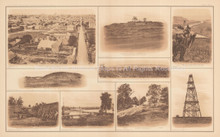 View Of Nashville Lookout Mountain Civil War Antique Photo 1895 circa