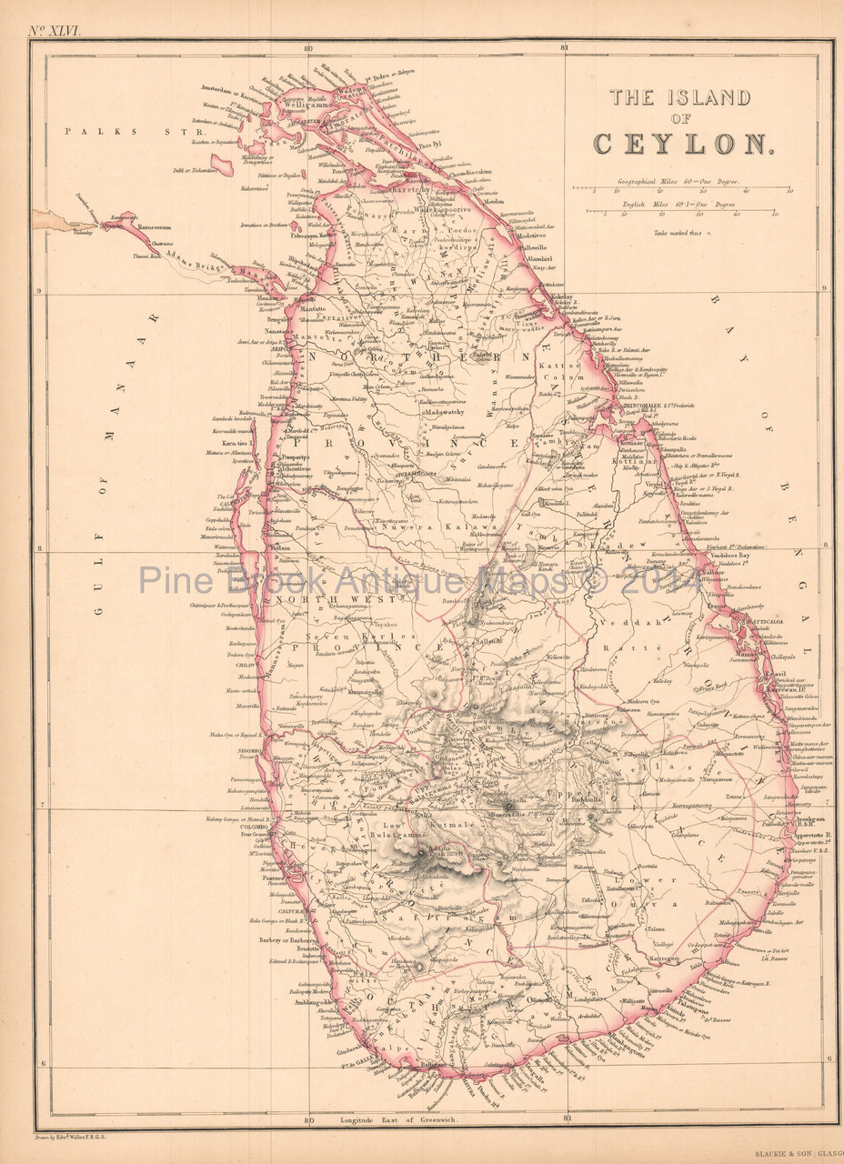 Ceylon Sri Lanka Antique Map Black 1860 on tunis map, sumatra map, timbuktu map, bengal map, punjab map, moluccas map, canton map, south asia, malaysia map, china map, kiev map, ghana map, burma map, japan map, gujarat map, kabul map, damascus map, morocco map, singapore map, tibet map, congo africa located on map,