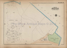 Viele Wilkins Bronx Antique Map New York City Bromley 1921