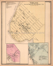 Verplanck New York Antique Map Beers 1867