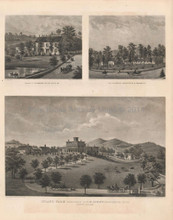 Bedford North Salem Antique View Beers 1867