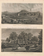 Southeast East Fishkill NY Antique View Beers 1867