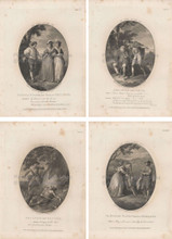 As You Like It Shakespeare Vintage Print 1787