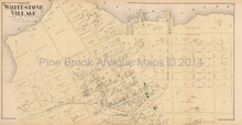 Whitestone Village New York Antique Map Beers 1873