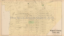 Whitestone New York Antique Map Beers 1873