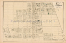 New Utrecht New York Antique Map Beers 1873