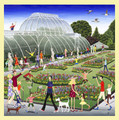 Kew Gardens Location Themed Mega Wooden Jigsaw Puzzle 500 Pieces