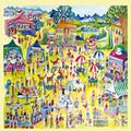 An Art Fair Fine Art Themed Maxi Wooden Jigsaw Puzzle 250 Pieces