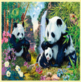 Panda Valley Animal Themed Magnum Wooden Jigsaw Puzzle 750 Pieces