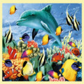 Something Fishy Animal Themed Mega Wooden Jigsaw Puzzle 500 Pieces