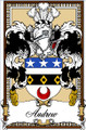 Andrew Bookplate Large Print Andrew Scottish Family Crest Print