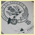 Ferguson Clan Cloot Crest Unbleached Cotton Printed Tea Towel