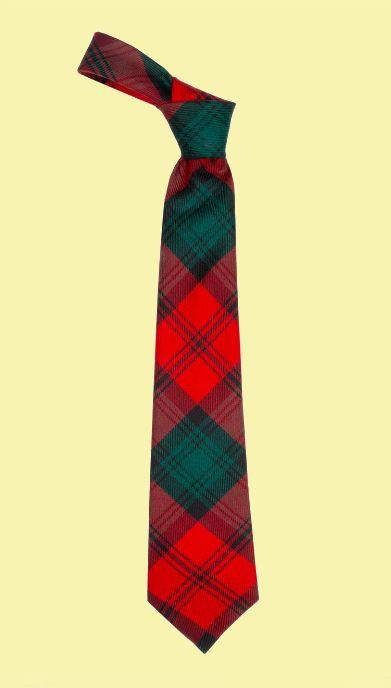 Gents Neck Tie MacAlpine Ancient Tartan Lightweight Scottish Clan Tie