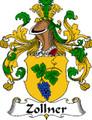 Zollner German Coat of Arms Large Print Zollner German Family Crest