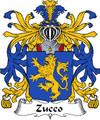 Zucco Italian Coat of Arms Print Zucco Italian Family Crest Print