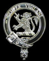 Wilson Clan Badge Polished Sterling Silver Wilson Clan Crest