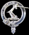 Wallace Clan Badge Polished Sterling Silver Wallace Clan Crest