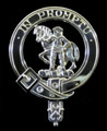 Trotter Clan Badge Polished Sterling Silver Trotter Clan Crest