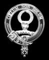 Stevenson Clan Badge Polished Sterling Silver Stevenson Clan Crest