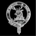 Rollo Clan Badge Polished Sterling Silver Rollo Clan Crest