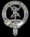 McCroskey Badge Polished Sterling Silver McCroskey Crest