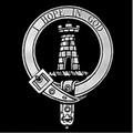 MacNaughton Clan Badge Polished Sterling Silver MacNaughton Clan Crest