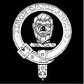 MacNab Clan Badge Polished Sterling Silver MacNab Clan Crest