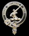 MacMillan Clan Badge Polished Sterling Silver MacMillan Clan Crest