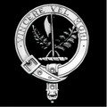 MacLaine Of Lochbuie Clan Badge Polished Sterling Silver MacLaine Clan Crest