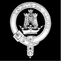 MacLachlan Clan Badge Polished Sterling Silver MacLachlan Clan Crest