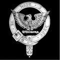 MacKeen Clan Badge Polished Sterling Silver MacKeen Clan Crest