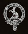 MacGowan Badge Polished Sterling Silver MacGowan Crest