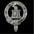 MacDonald Of Clanranald Clan Badge Polished Sterling Silver MacDonald Clan Crest