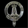 MacCallum Clan Badge Polished Sterling Silver MacCallum Clan Crest