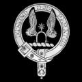 Johnston Clan Badge Polished Sterling Silver Johnston Clan Crest