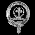 Hanna Badge Polished Sterling Silver Hanna Crest