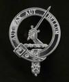 Gunn Clan Badge Polished Sterling Silver Gunn Clan Crest