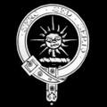 Carr Badge Polished Sterling Silver Carr Crest