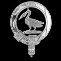 Campbell Of Cawdor Clan Badge Polished Sterling Silver Campbell Clan Crest