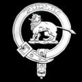 Bruce Clan Badge Polished Sterling Silver Bruce Clan Crest