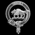 Bradley Badge Polished Sterling Silver Bradley Crest